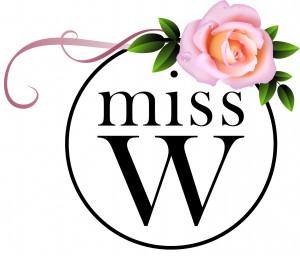 logo Miss W + FLEUR